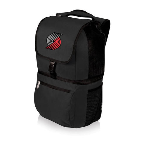 Picnic Time Portland Trailblazers Black Polyester Zuma Cooler Backpack