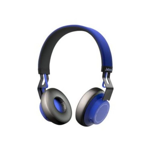Jabra  Move 100-96300001-02 Wired/Wireless Over-the-Head Stereo Headset with Mic, Blue