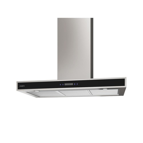 Ancona 36 in. 400 CFM Convertible Wall-Mounted Range Hood with LED Lights in Stainless Steel