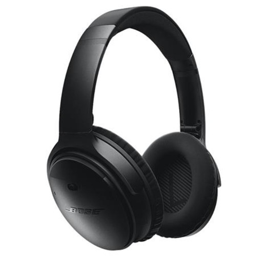 Bose QuietComfort 35 Wireless Headphones Black W/Bose SoundSport Wireless Headpn 759944-0010 A