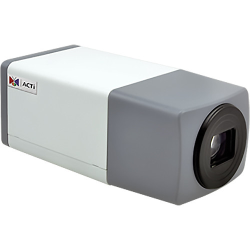 E219 2MP Day/Night PoE Indoor/Outdoor Zoom Box Camera with 4.9 to 49mm Varifocal Lens & Heater