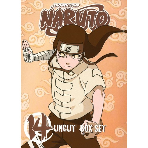 Naruto Uncut Box Set, Vol. 14 [3 Discs] [With Playing Cards] [DVD]