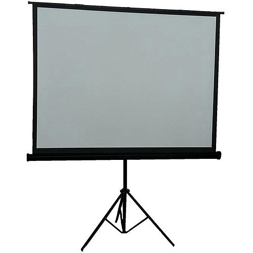 Inland 05357 84-Inch Portable Projection Screen (Black) (Discontinued by Manufacturer)