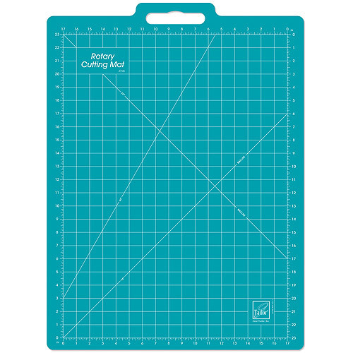 June Tailor 18-Inch-by-26-Inch Gridded with 17-Inch-by-23-Inch Grid Rotary Mat With Handle