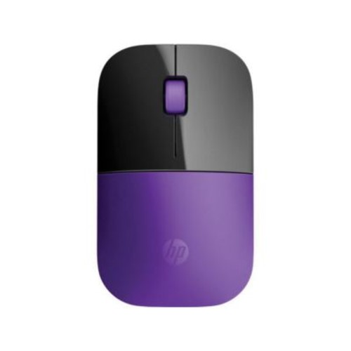 HP Z3700 USB Wireless Blue LED Mouse, Purple