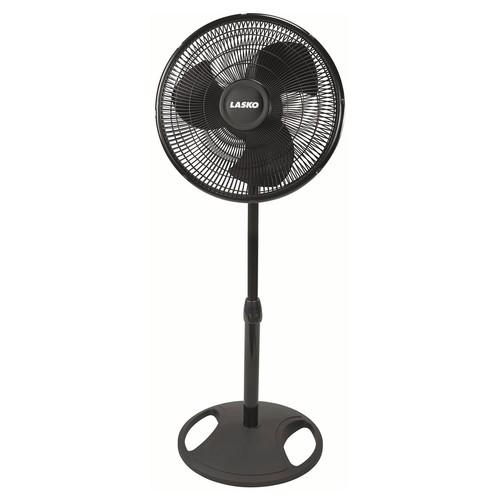Lasko 2521 Oscillating Stand Fan, 16-Inch, Black [Stand Fan]