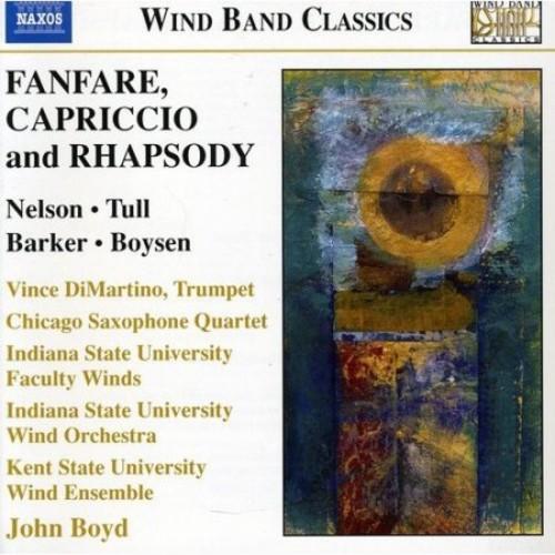 Fanfare, Capriccio & Rhapsody [CD]