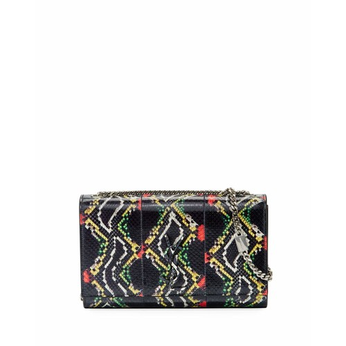 Kate Medium Monogram Snakeskin Crossbody Bag