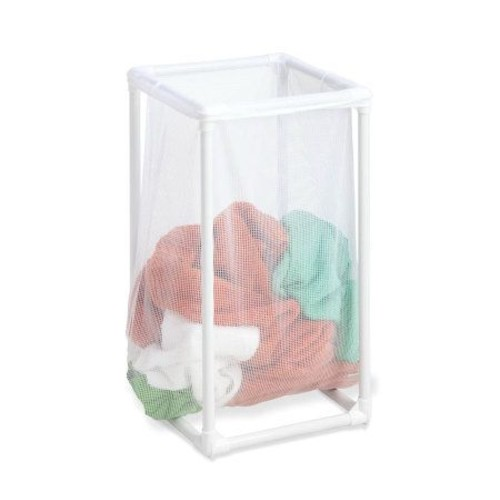 Honey-Can-Do Mesh Hamper with Bag