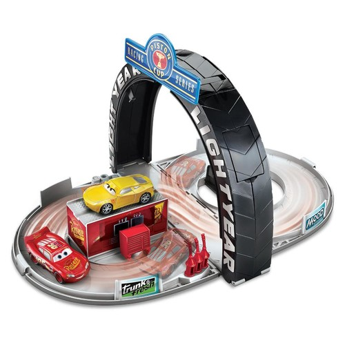 Disney Pixar Cars 3 Piston Cup Portable Playset Gift Pack