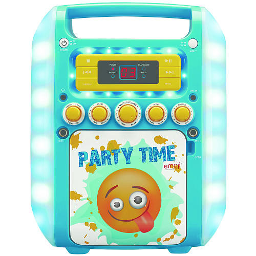 Emoji Flashing Karaoke Machine