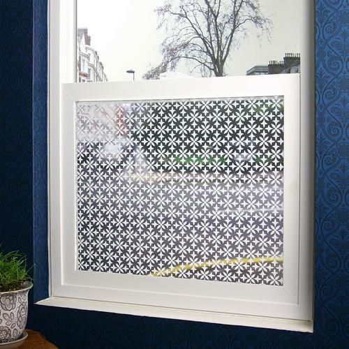 Fleur Sheer Window Film