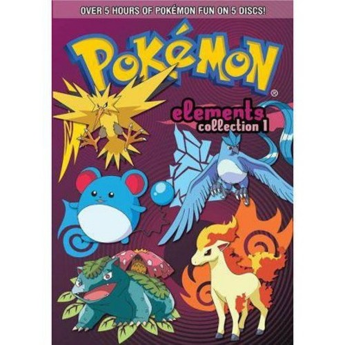 Pokemon Elements: Collection 1 [5 Discs]