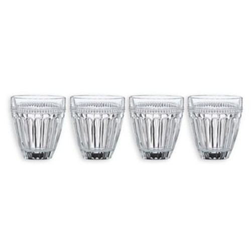 Lenox French Perle Double Old Fashioned Glasses (Set of 4)
