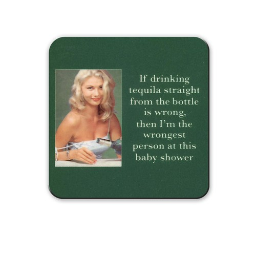 Tequila Babyshower Coaster