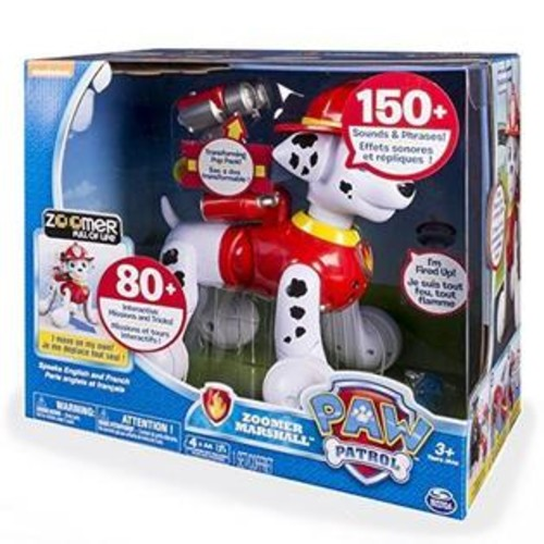 Zoomer Marshall PAW PATROL TOY, Interactive Pup Kids ACTION FIGURE TOY