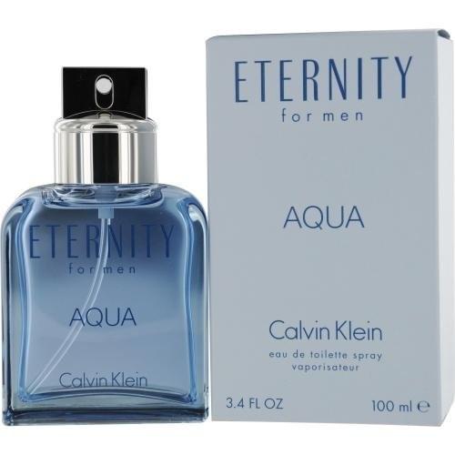 Eternity Aqua ~ Calvin Klein 3.4 oz Men Eau de Toilette
