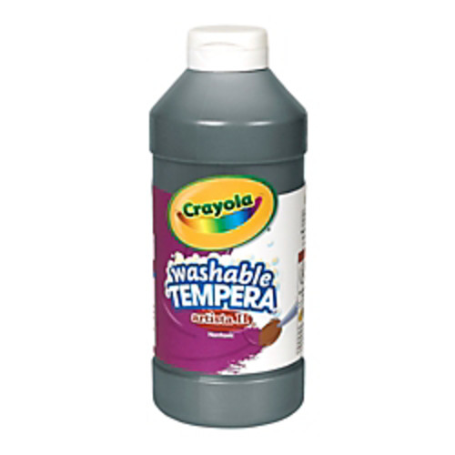 Crayola Artista II Tempera Paint, 16 Oz, Black