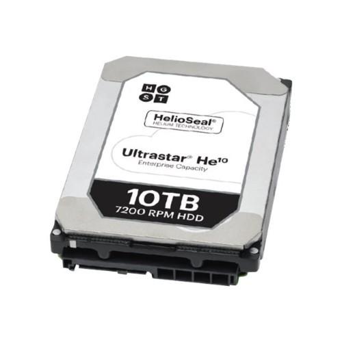 Hitachi GST Ultrastar He10 HUH721010ALN600 - Hard drive - 10 TB - internal - 3.5