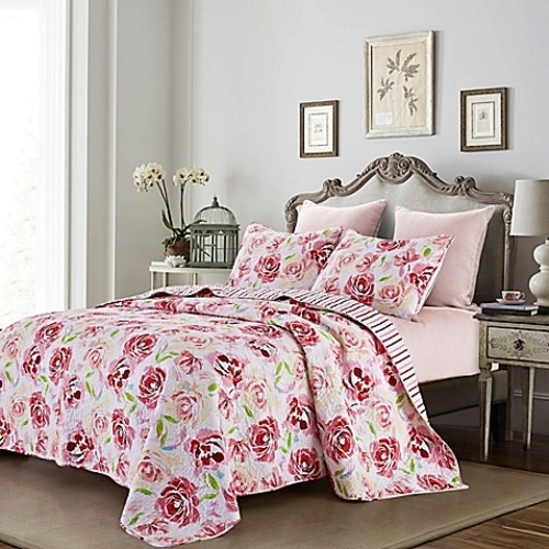 Chloe Reversible Full/Queen Quilt Set