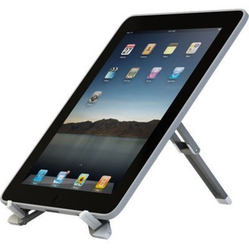 Crimson Silver Pocket Eazl Portable Easel Stand for Ipad, Kindle, Galaxy and Other Tablets