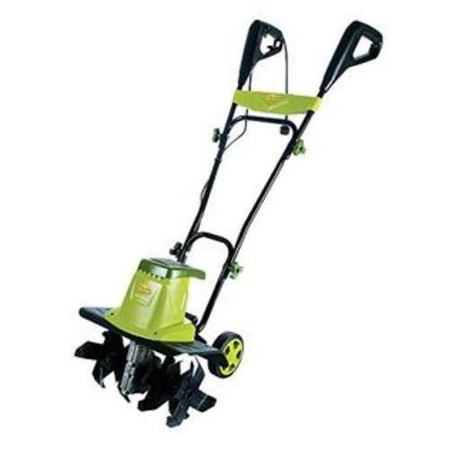 Snow Joe Sun Joe Tiller Joe 12-Amp 16-Inch Electric Tiller/Cultivator w/ 5.5-In Wheels