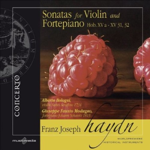 Sonatas For Violin & Fortepiano - CD