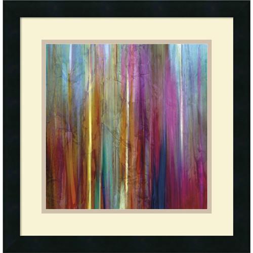 Framed Art Print 'Sunset Falls I' by John Butler 18 x 18-inch