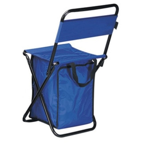Goodhope Camping & Hiking Gear Folding Chair With Cooler [option : Blue]