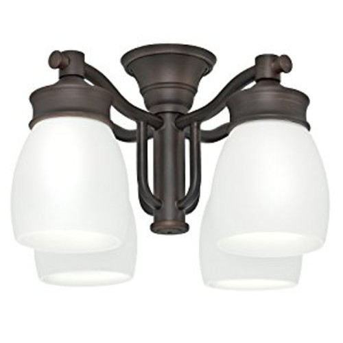 Casablanca Fan Company 99090 Outdoor 4 Light Fixture, Brushed Cocoa