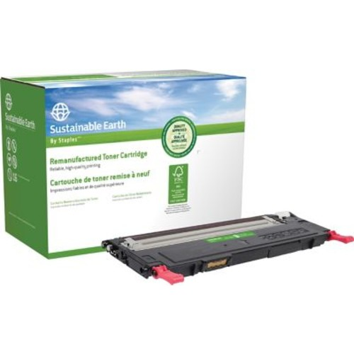 Sustainable Earth by Staples Remanufactured Magenta Toner Cartridge, Dell 1230