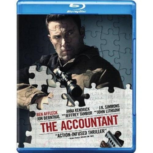 The Accountant (Blu-ray + DVD + Digital)