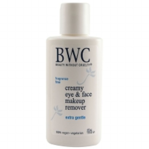 Beauty Without Cruelty Extra Gentle Creamy Eye & Face Makeup Remover 4.0oz.