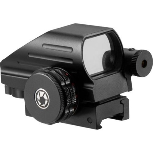 Multi-Reticle Electro Sight with Red Aiming Laser