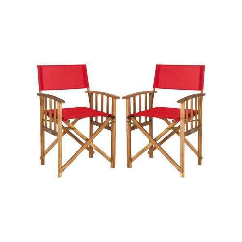 Laguna Director Chairs (Set of 2) by Safavieh