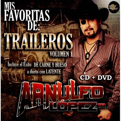 Mis Favoritas de Los Traileros, Vol. 1 [CD & DVD]