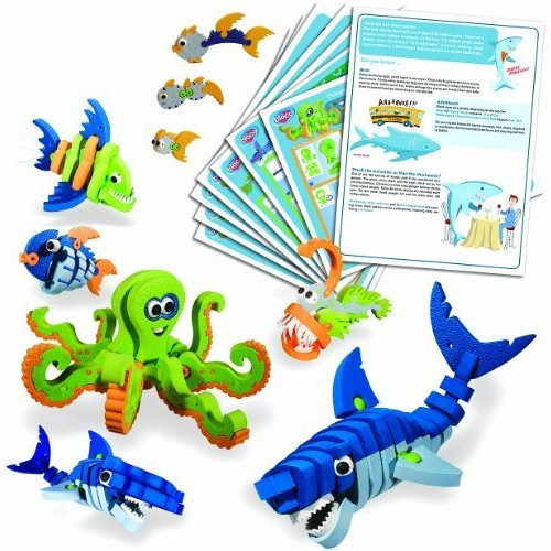 Bloco Toys - Marines Creatures Scholastic set