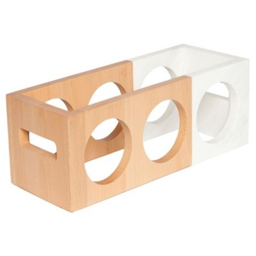 Rectangle Marble/Wood Wine Rack - Threshold