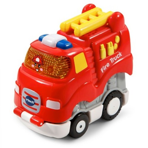 VTech Go! Go! Smart Wheels Fire Truck Press and Race Vehicle