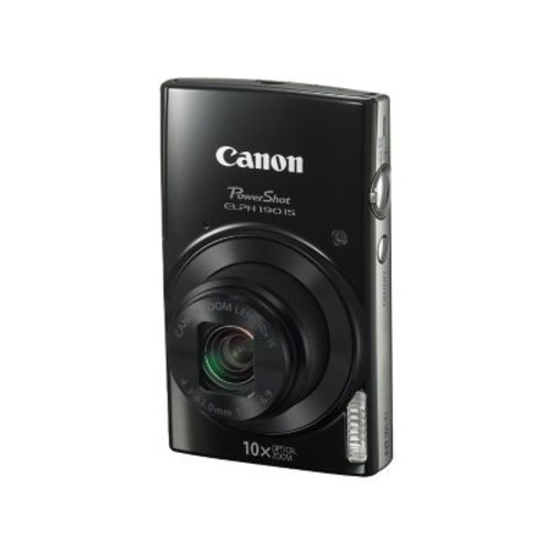 Canon PowerShot ELPH 190 IS 20MP Compact Camera, 10x Optical Zoom, 43 - 43 mm Focal Length
