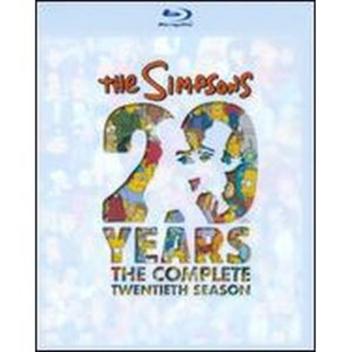 The Simpsons: The Complete Twentieth Season [4 Discs] [Blu-ray]