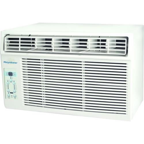 Keystone KSTAW12C 12,000-BTU 115-volt Window-mounted Air Conditioner with Follow Me LCD Remote Control
