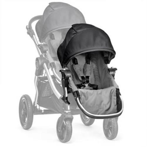 Baby Jogger City Select Second Seat Kit in Black/Grey