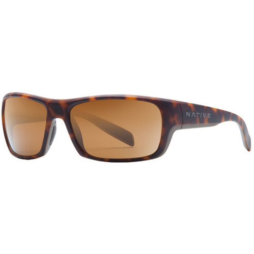 NATIVE EYEWEAR Eddyline Sunglasses, Desert Tort/Brown