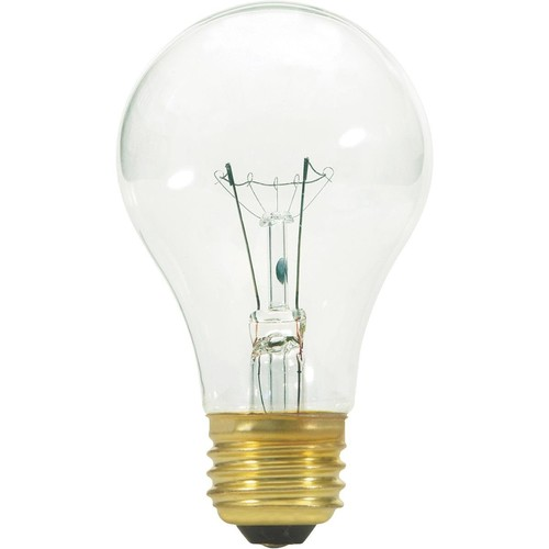 Satco A19 Incandescent Vibration Service Light Bulb - S3942