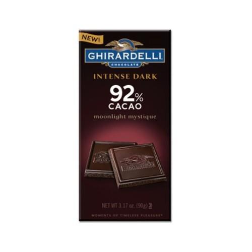Ghirardelli Intense Dark Moonlight Mystique 92% Cacao Dark Chocolate Bars - 3.17oz