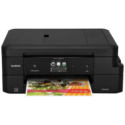 Brother MFC-J985DW Inkjet All-in-One Color Printer with INKvestment Cartridges, Duplex, and Wireless, Amazon Dash Replenishment Enabled [Printer]