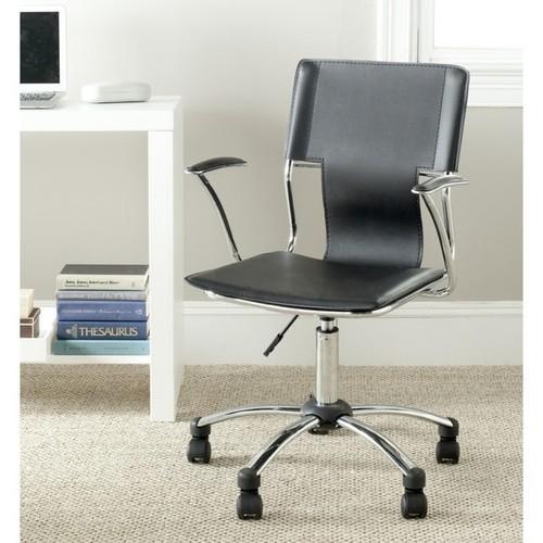 Safavieh Kyler Black Desk Chair