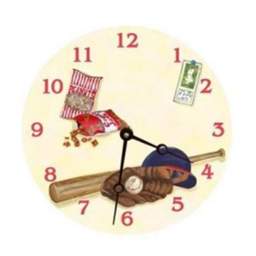 Lexington Studios Play Ball Round Clock (LXNGS202)