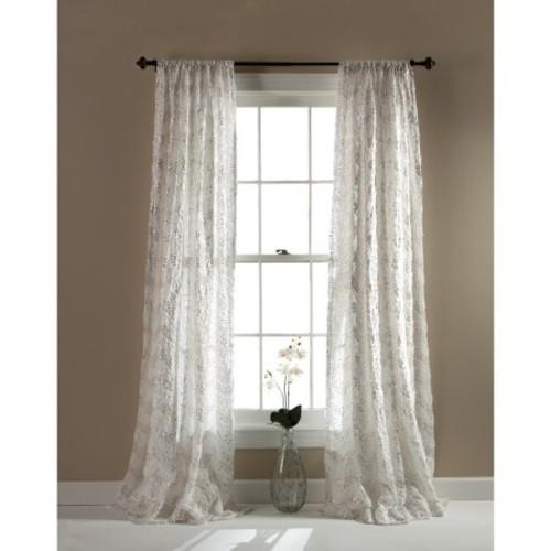 Giselle Ivory Window Panel, 54